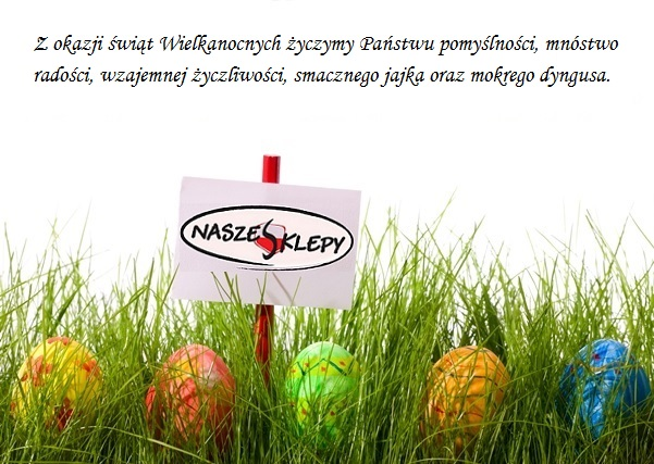 Easter eggs and blank add sign hidden in fresh green grass. Isolated on white background